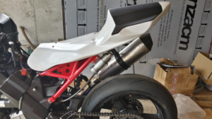L5 600 Tail on SV650, F1 Engineering Subframe